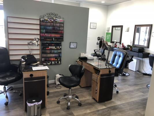 Beauty Salon - 6 Stations, Manicures, Pedicures Company For Sale